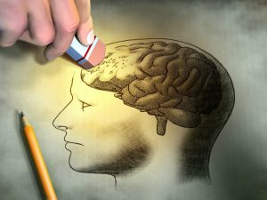 Not all brains work the same. When one part is not so strong, other parts take over. Analytical skills and abstract thought may be dominant where memory is weakened. It doesn't mean the memories aren't there. It means they are restored through other processing centers. The result is fresh expression.