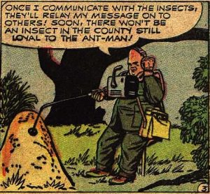 Ant man. This really has nothing to do with this story.