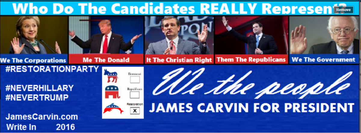 Do the candidates represent we the people?