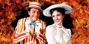 Dick Van Dyke and Julie Andrews get ready to sing Supercalifragilisticexpialadocious. Long words can have a delicate beauty.