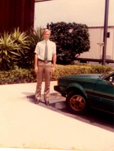 New Car and new job at Fidelity Federal Savings Bank Delray Beach, now PNC