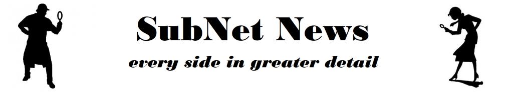 SubNet News Header