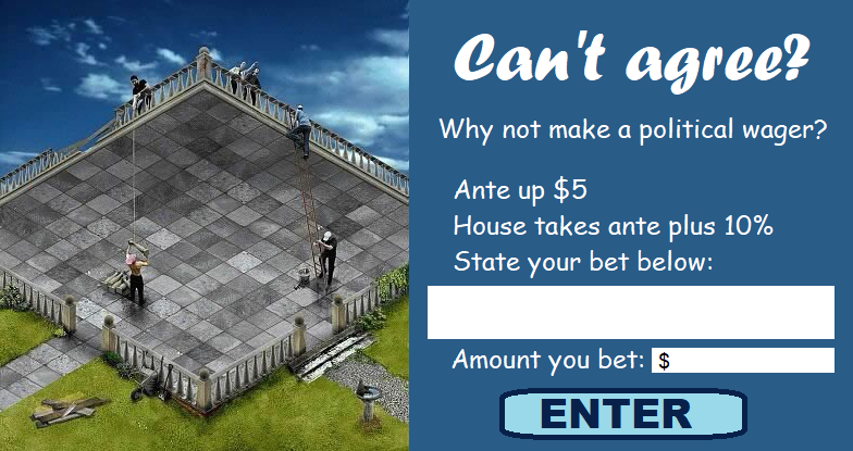Enter Political Wager Here